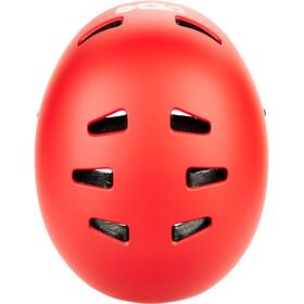TSG Evolution Solid Color Helmet satin sonic red